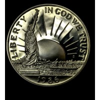 50c Half Dollar 1986 S Statue of Liberty PR68 DCAM